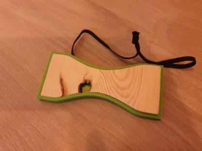 Le nœud papillon Vert avec Elastique