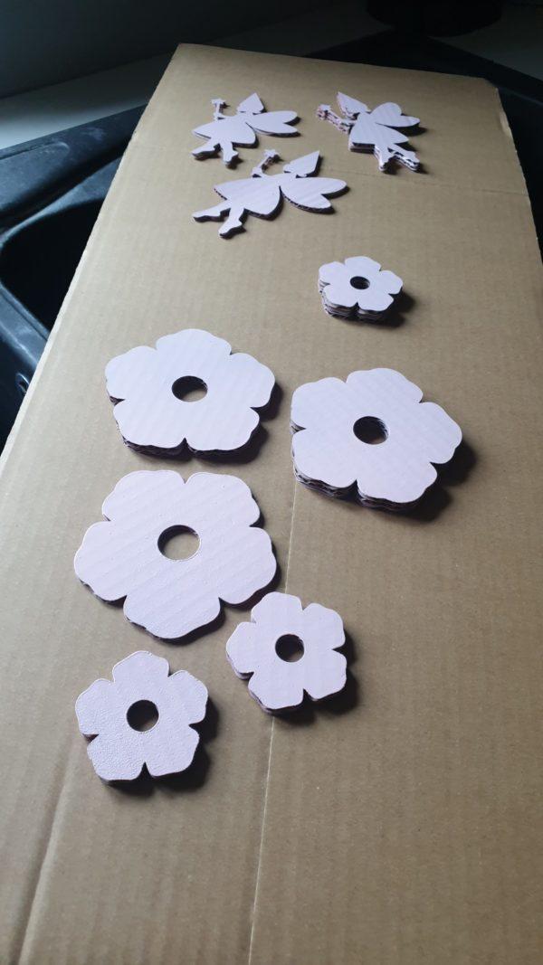 Les pieces de Fleurs pour le Cercle Prénom