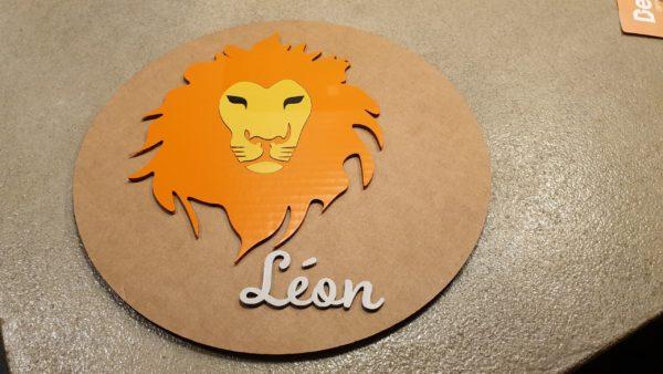 Le cercle Léon sur le thème du Lion