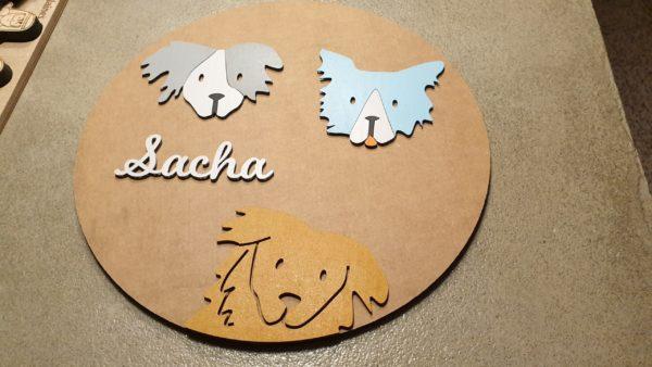 Le cercle Sacha sur le thème du chien