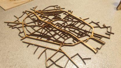 La découpe du plan de Tournai
