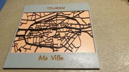 Le plan de Tournai