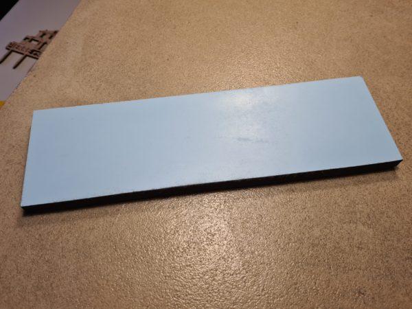 Plaque Anniversaire Bleu