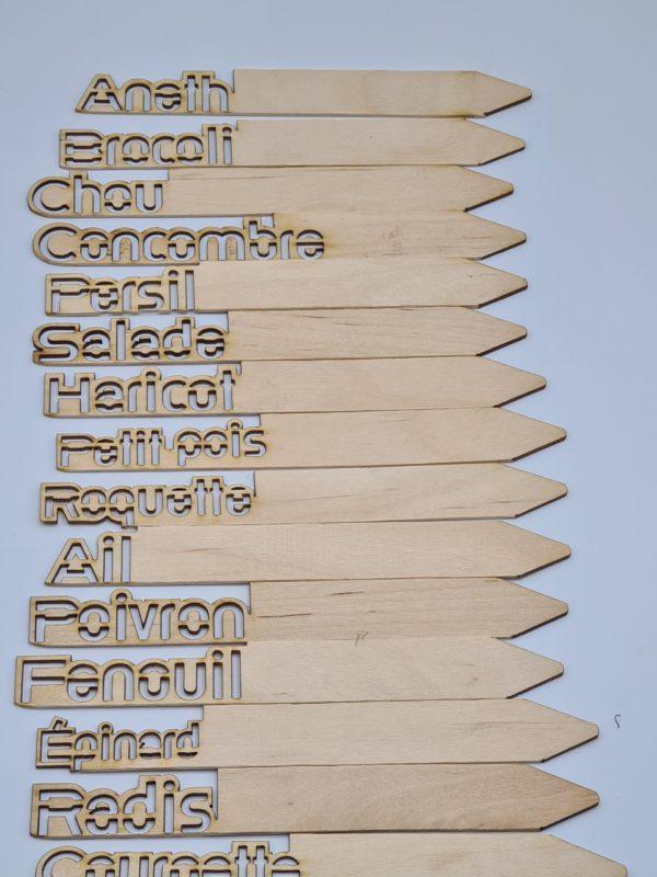 La pancarte récup la gamme complète