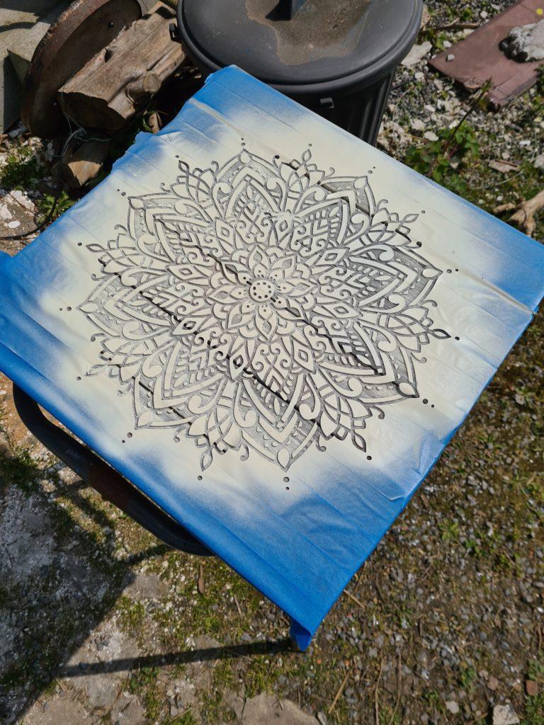 Les planches mises en peinture