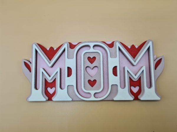 Le panneau Totem de Mom vue centrée